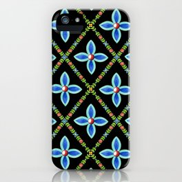 Elizabethan Lattice iPhone Case