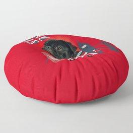 Proud London Pug Floor Pillow