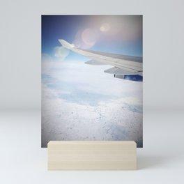 Leaving on a jet plane Mini Art Print