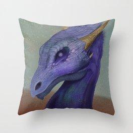 Pearl Eye Dragon Throw Pillow