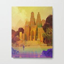 Lost Tomb Metal Print