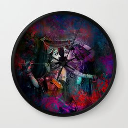 Radha Krishna- the divine Wall Clock