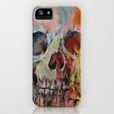 Skull Fire iPhone (5, 5s) Slim Case