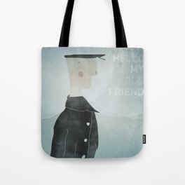 Ishmael : Hello My Old Friend Tote Bag