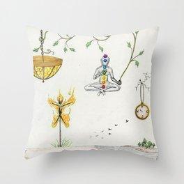 Effigy Throw Pillow
