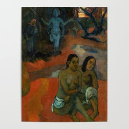 "Paul Gauguin ""Te Pape Nave Nave (Delectable Waters)"" Poster"