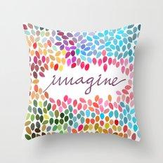 Imagine [Collaboration with Garima Dhawan] Throw Pillow