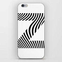 Z is for Zebra iPhone Skin