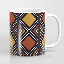 African Tribal Pattern No. 59 Coffee Mug