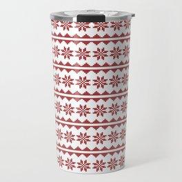 Christmas Stitch Travel Mug