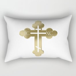 Russian orthodox cross Rectangular Pillow