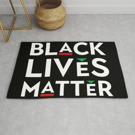 Black Lives Matter portrait Rug