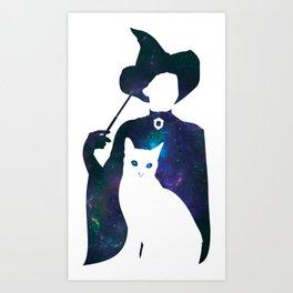 Minerva and Cat Art Print