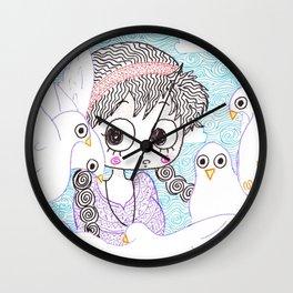 laputa howl moving castle Wall Clock