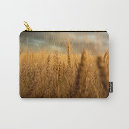 Harvest Time - Golden Wheat in Colorado Field Carry-All Pouch