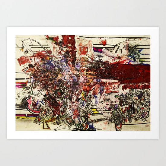 Boom For Real Art Print