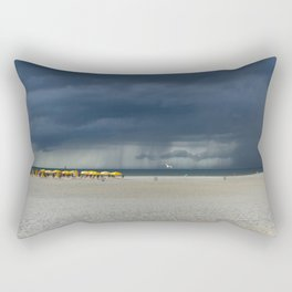 Be Strong and Weather the Storm Rectangular Pillow