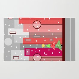 Christmas In The City Rug