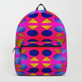Dots, light, triangles and pattern ... Backpack