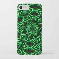 rave iPhone & iPod Cases featuring Rave Explosive by Julie Maxwell