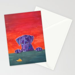 Focus: Resist the Temptation Stationery Cards