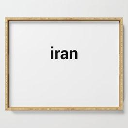 iran Serving Tray