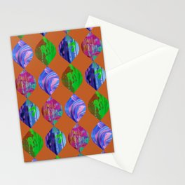 Ovoid Tropic Stationery Cards
