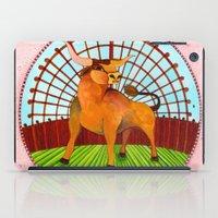 taurus iPad Cases featuring Taurus by Sandra Nascimento