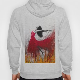Rise Above The Flames Hoody