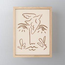 Mother Nature Framed Mini Art Print