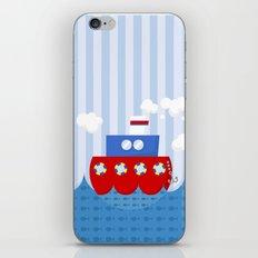 little boat iPhone Skin