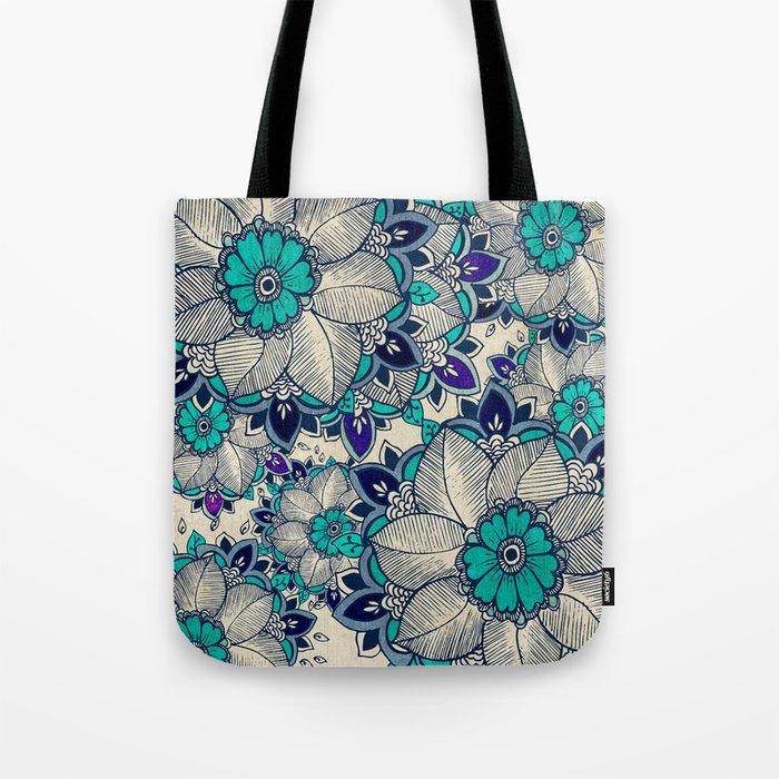 Flower hope Tote Bag