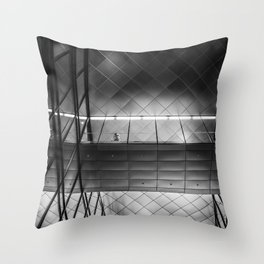 willy brandt haus Throw Pillow