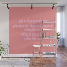 happiest people Wall Mural