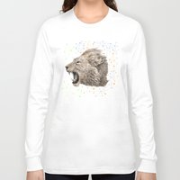 leo Long Sleeve T-shirts featuring Leo by dogooder