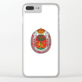 flag of Kristiansand Clear iPhone Case