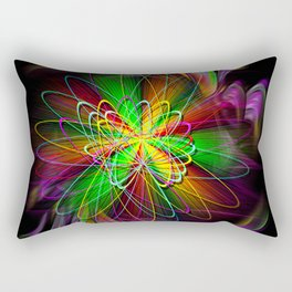 Abstract Perfektion 78 Rectangular Pillow