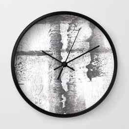Gray smoke Wall Clock