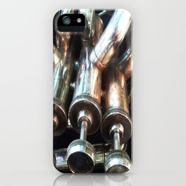 Instrumental view iPhone Case