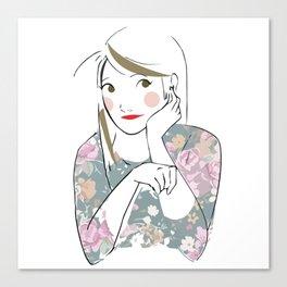 Lovely Girl Canvas Print