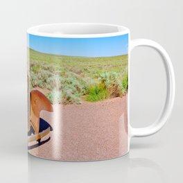Relic of Historic Route 66 in Arizona Coffee Mug