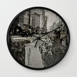 Edge of Everything Wall Clock