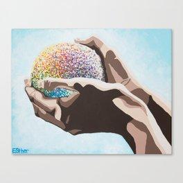 Eden VII Knowledge Canvas Print