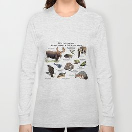 Animals of the Adirondacks Long Sleeve T-shirt
