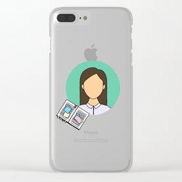 Amy Santiago Clear iPhone Case