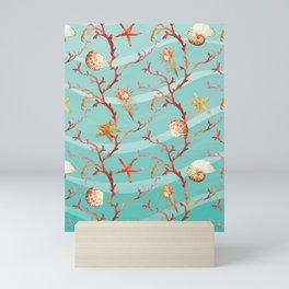 Marine Pattern 11 Mini Art Print