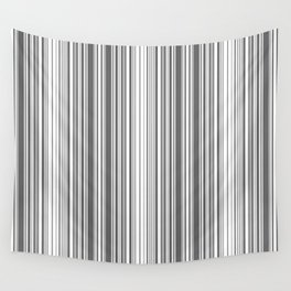 Abstraction black and white stripes Wall Tapestry