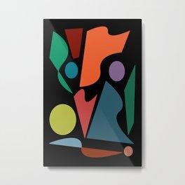 Abstract #205 Metal Print