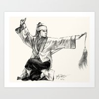 Jiang Hu Art Print