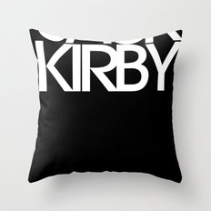 Classic : Jack Kirby Black  Throw Pillow